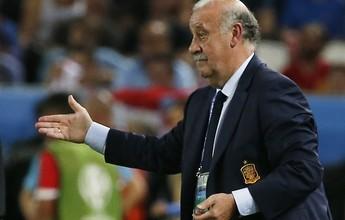 Vicente del Bosque deixa o comando da Espanha após eliminação na Euro