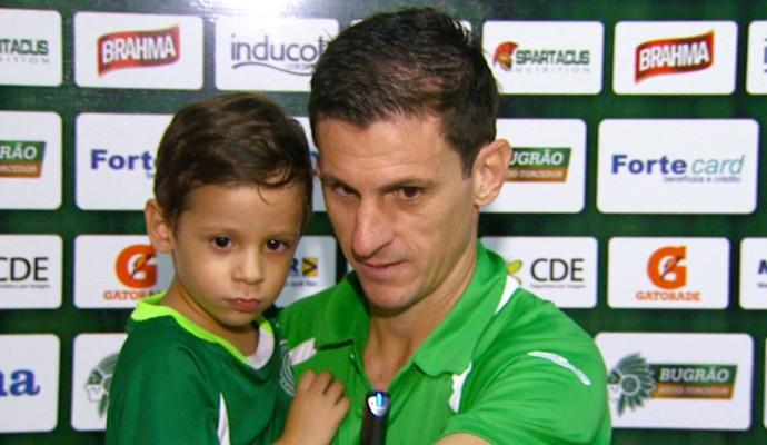 Fumagalli meia Guarani (Foto: Oscar Herculano Jr / EPTV)