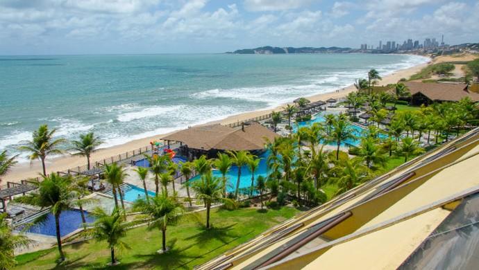 Hotel que recebeu delegação de Gana em Natal foi alvo de críticas de Boateng (Foto: Divulgação)