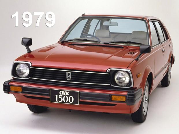 Segunda geração do Honda Civic, de 1979 (Foto: Divulgação)