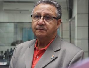 Presidente da Confederação Brasileira de Basquete, Carlos Nunes (Foto: Renata Vasconcellos / Globoesporte.com)