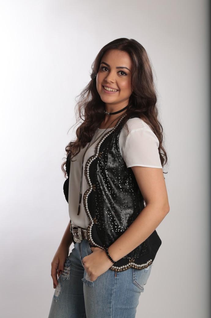 Fernanda Silva faz parte do Time Teló no 'The Voice Brasil' (Foto: Isabella Pinheiro/Gshow)