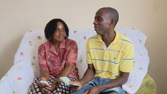 Campanha tenta ajudar casal de haitianos a trazer filhos para MG
