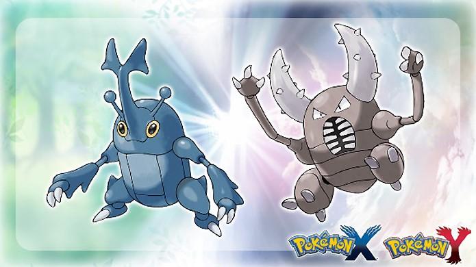 Jogadores receberão os pokémons Pinsir e Heracross online em Pokémon X & Y (Foto: nintendonews.com)