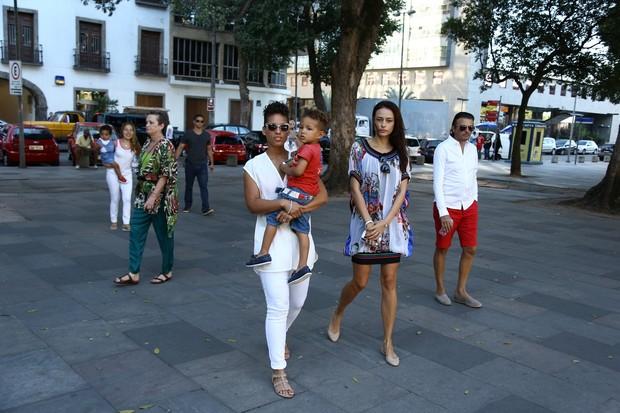 Alicia Keys no Rio (Foto: Gabriel Reis/AgNews)