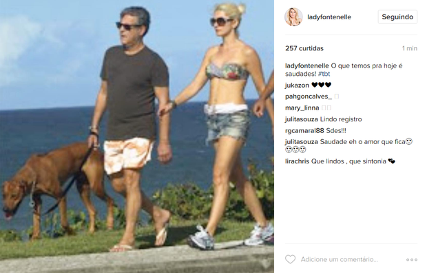 Antônia Fontenelle em post na web (Foto: Reprodução/Instagram)
