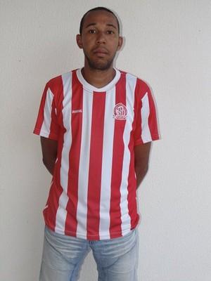 Paulo Cerqueira goleiro Caiçara (Foto: Caiçara EC)