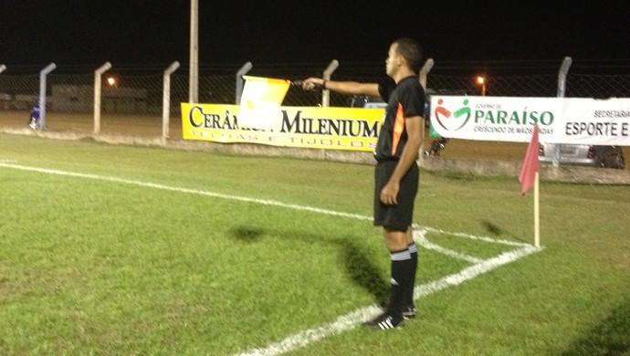 Natal Júnior em partida no estádio Pereirão (Foto: Vilma Nascimento/GloboEsporte.com)