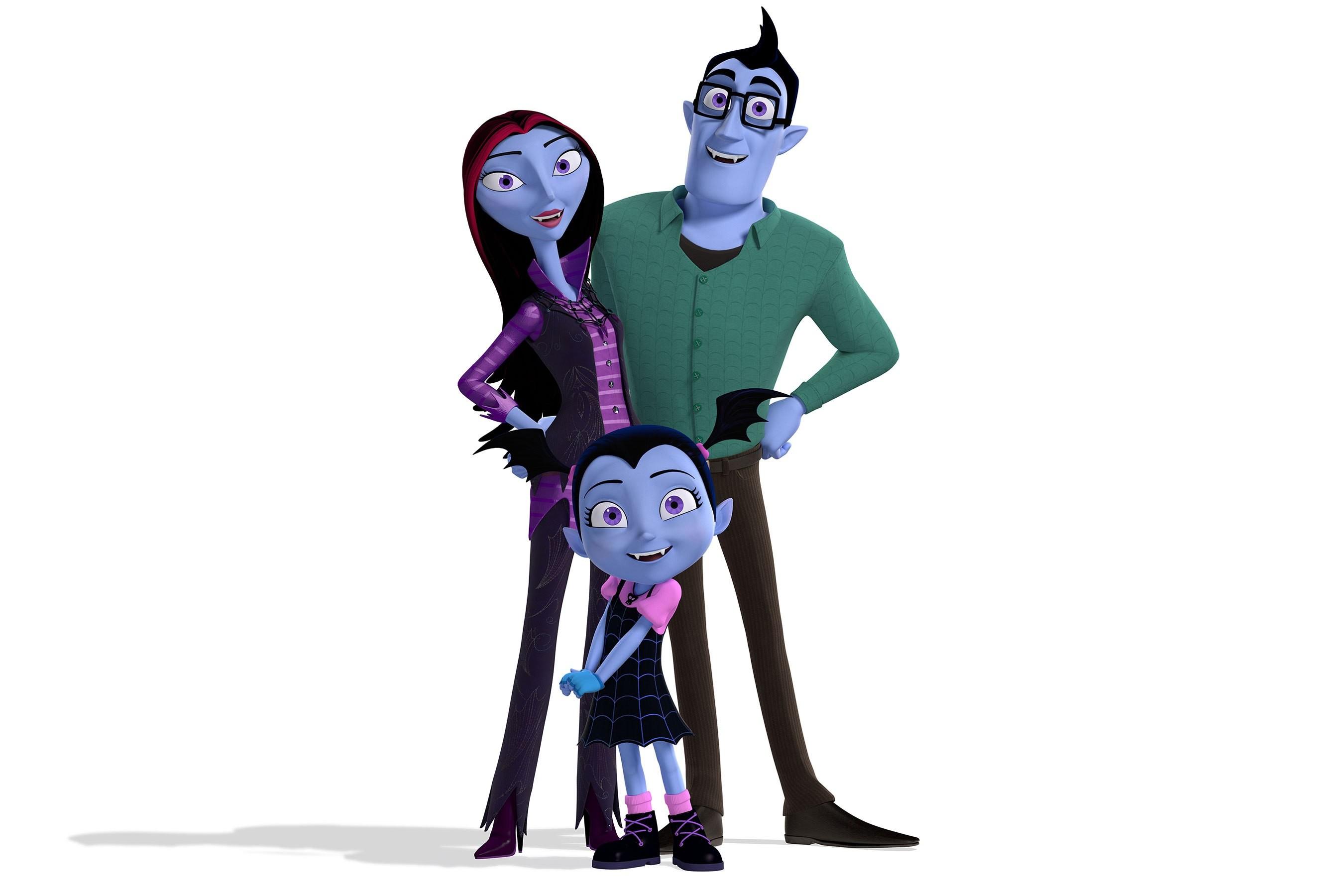 Vampirina em família (Foto: divulgação)