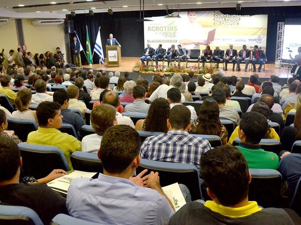 Agrotins 2015 deve acontecer entre os dias 5 a 9 de maio, em Palmas (Foto: Tharson Lopes/Secom)