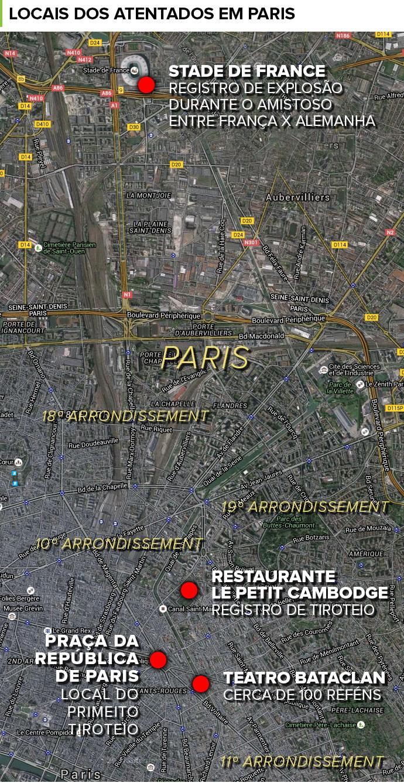 Atentado em Paris 1 (Foto: infoesporte)