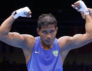 boxe  Yamaguchi Falcão londres 2012 (Foto: Agência Reuters)