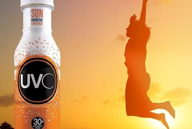 UVO: suplemento liquido promete proteger a pele dos raios UVA. (Foto: Divulgação)
