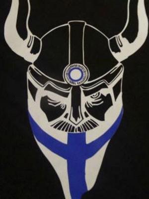 Membros das patrulhas usam agasalhos pretos com este símbolo  (Foto: Reprodução/Facebook/Soldiers of Odin)
