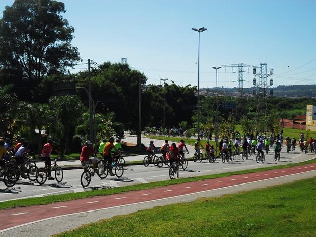 Pedala Sorocaba reuniu mais de 6 mil ciclistas (Foto: Divulgação/Mário Chaves)