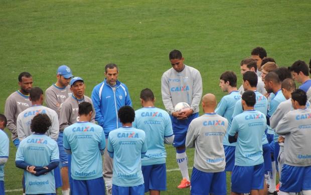 Avaí treinamento (Foto: Marcelo Silva)
