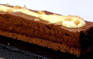 Pão de ló de chocolate com pimenta
