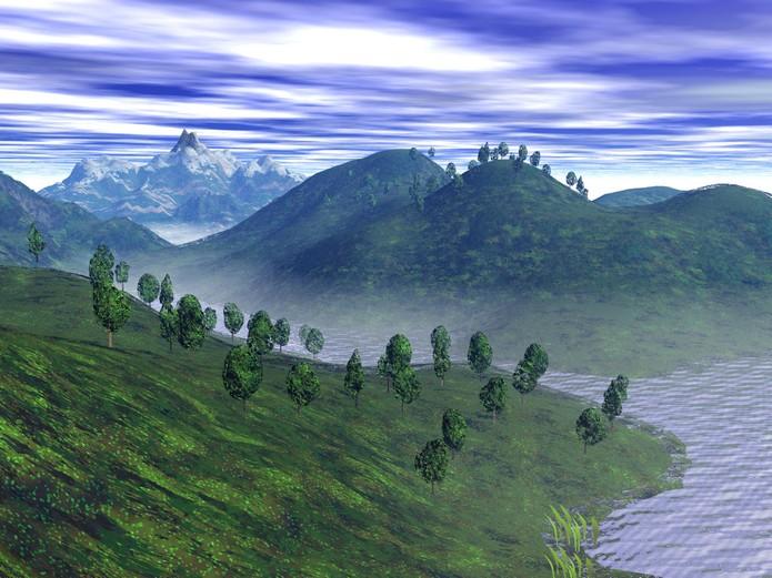 O Bryce é uma ótima opção para quem quer criar paisagens, renderização de ambientes e animação (Foto: Divulgação)