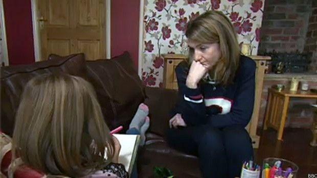 Jessica contou à apresentadora da BBC que não pretende mudar de ideia nem aos cem anos de idade  (Foto: BBC)