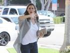 Jennifer Garner se irrita com assédio insistente dos paparazzi