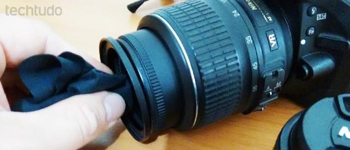 Cuidados simples podem prolongar a vida útil de sua câmera digital (Foto: Adriano Hamaguchi/TechTudo)