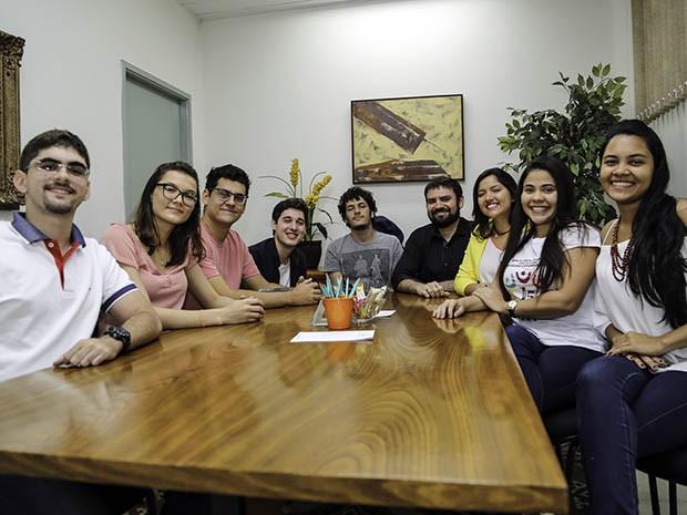 Alunos de diversos cursos da Unifor participam das pesquisas e discussões que contrapõem a realidade jurídica e a cultura ficcional (Foto: Bruno Bressam/Unifor)