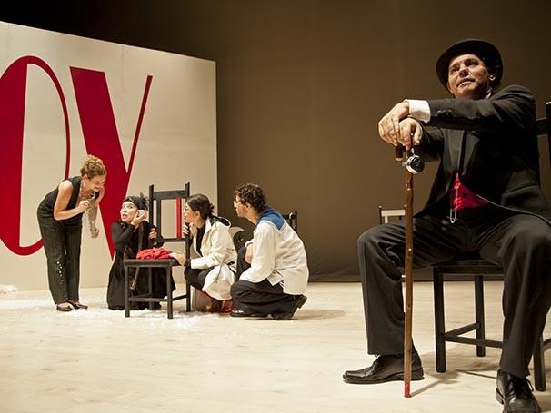 Jurij Alschitz foi convidado para dirigir a peça (Foto: Bianca Aun)