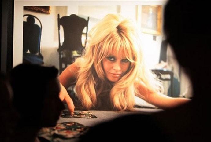 Mostra sobre Brigitte Bardot em Saint-Tropez_corte690