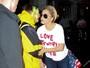 Lady Gaga volta a protestar após vitória de Donald Trump nos EUA