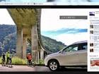 Ciclista processa Toyota após aparecer em foto de anúncio de SUV