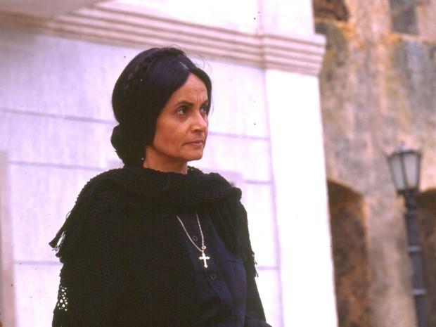 Perptua (Joana Fomm) foi a responsvel pela expulso de sua irm mais nova da cidade (Foto: TV Globo)