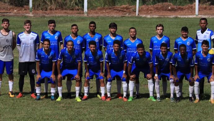 Equipe Sub-19 do Sinop (Foto: Julio Tabile/Sinop FC)