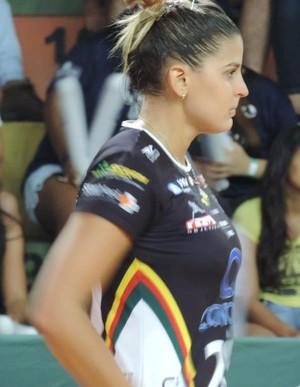 Mari Paraíba, do Vôlei Bauru, contra o Sesi-SP, pelo Paulista de Vôlei (Foto: Alan Schneider)