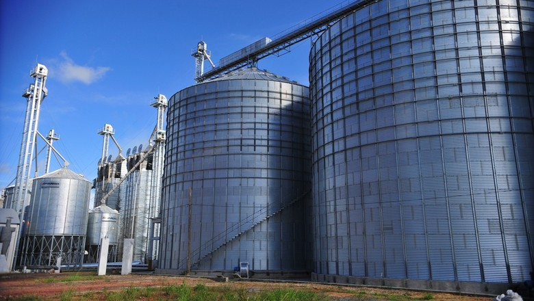 agricultura_armazenagem_silos (Foto: Ernesto de Souza/Ed. Globo)