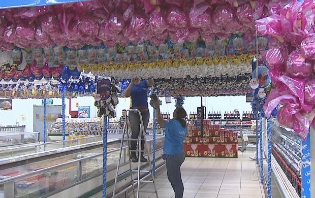 Além dos ovos de Páscoa, consumidores devem gastar com peixes e comidas tradicionais (Foto: Acre TV)