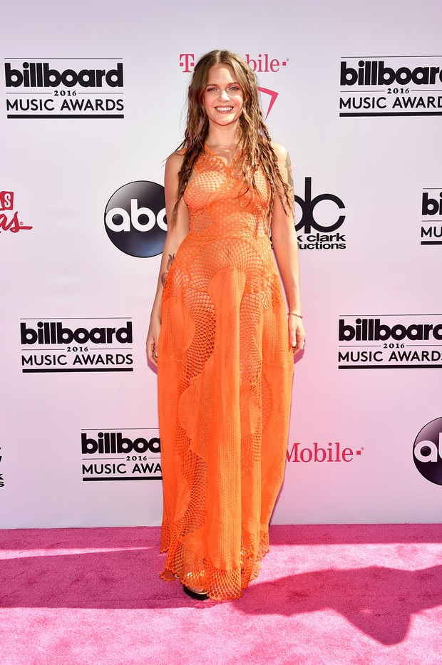 Tove Lo no Billboard Music Awards (Foto: AFP)