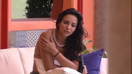 Marinalva sobre situação de Emilly na casa: 'Se o Mamão sai e o Marcos sai?'