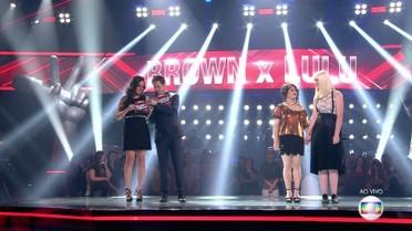 Aretha Lima e Gabriela Ferreira se enfrentam em batalha entre time Brown e time Lulu