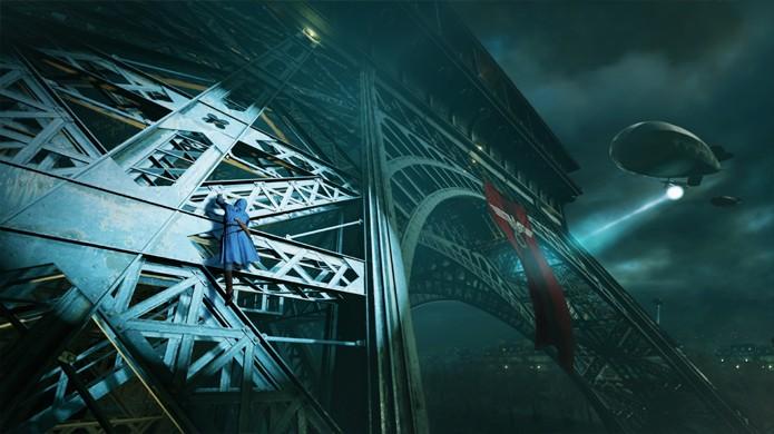 Por causa de um erro na simulação, Arno vai parar no meio da Segunda Guerra Mundial (Foto: Eurogamer)