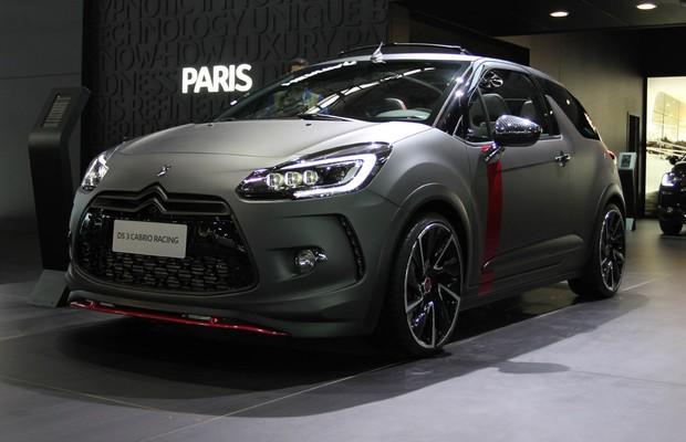 Citroën DS3 Cabrio Racing no Salão do Automóvel 2014 (Foto: Gustavo Maffei/Autoesporte)
