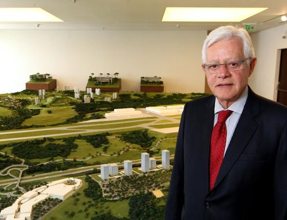 O ministro-chefe da Aviação Civil, Moreira Franco  (Foto:  HÉLVIO ROMERO/ESTADÃO CONTEÚDO)