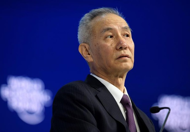 Liu He, principal assessor econômico do governo da China (Foto: EFE/ Gian Ehrenzeller)