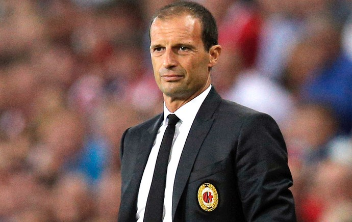Massimiliano Allegri Milan e PSV (Foto: Getty Images)