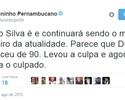 """Juninho critica Dunga após não convocar T. Silva: """"Parece que se esqueceu de 90"""""""