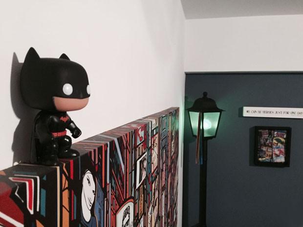 Ícaro Silva abre seu apartamento geek no Rio de Janeiro (Foto: Ícaro Silva)