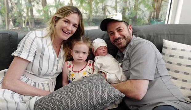 Jimmy Kimmel com a mulher, Molly, e os filhos (Foto: Reprodução/Arquivo pessoal)