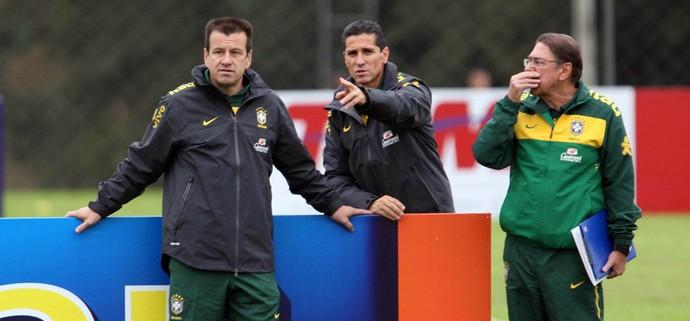 Dunga, Jorginho e Américo Faria (Foto: Photocamera)