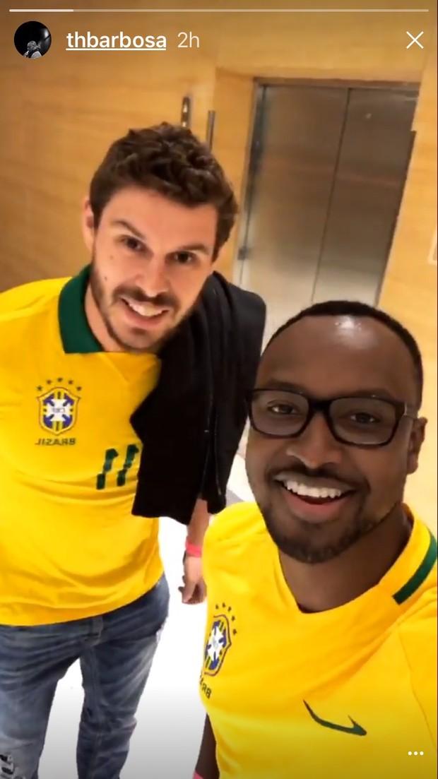Bruninho e Thiaguinho (Foto: Reprodução/ Instagram)