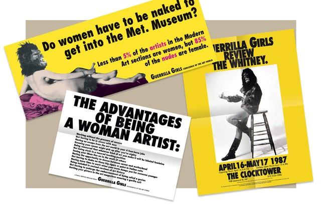 Alguns dos cartazes do coletivo, criados ao longo de 30 anos. (Foto: Getty Images e Divulgação)