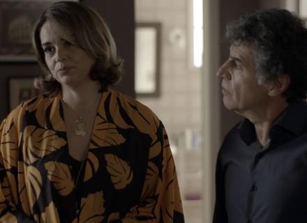 Reta final: Gilda exige que Marisa faça exame de DNA do bebê